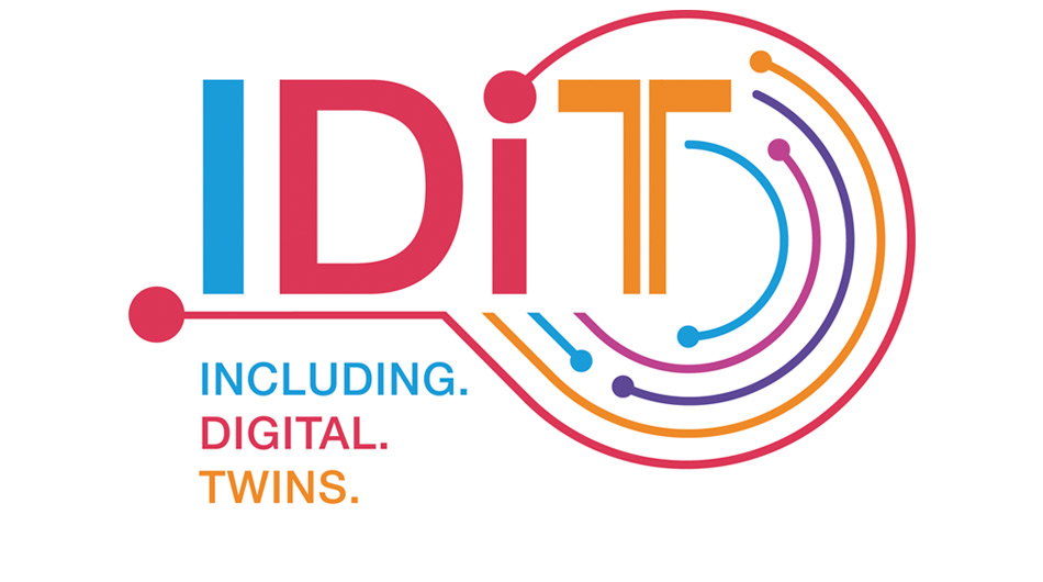 Logo von IDiT – INCLUDING.DIGITAL.TWINS.