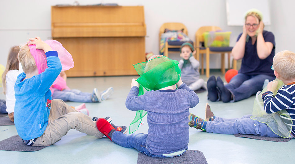 Kinder in der Kita Rondorf in Köln
